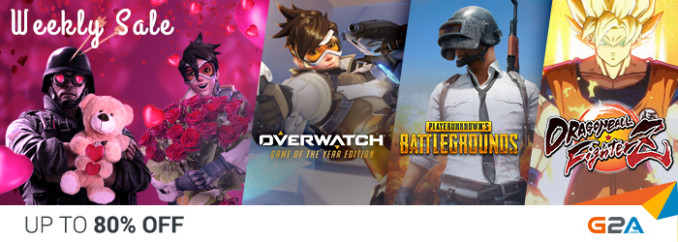 G2A Weekly Sale (9.02)