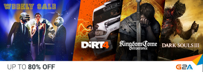 G2A Weekly Sale (2.02)