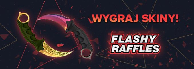 Flashyraffles.com: zgarniasz fanów i skiny za free? Jak to działa?
