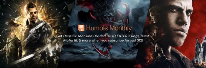 [Akt.2] Zapowiedź kwietniowego Humble Monthly Bundle