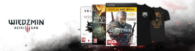 30% rabatu na wiedźmińskie odzienie przy zakupie cyfowej gry z serii Wiedźmin w cdp.pl