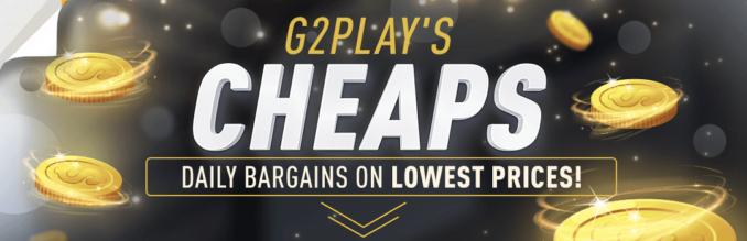 G2Play Cheaps – oferty dnia w najniższych cenach