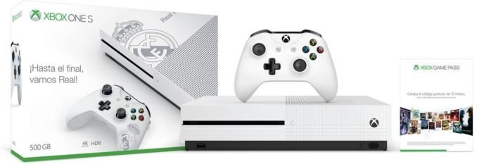 Konsola Xbox One S Real Madrid Edition + Xbox Game Pass  na 12 miesięcy + FIFA 18 za 840 złotych (możliwe 684 zł)