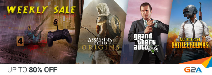 G2A Weekly Sale (13.04)