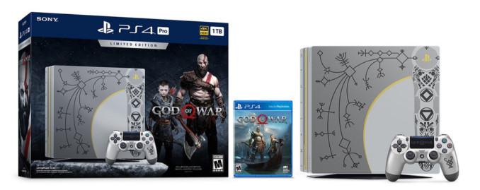 PlayStation 4 Slim 1TB + God of War za 1199 zł. PlayStation 4 Pro 1TB + God Of War od 1699 zł w Euro