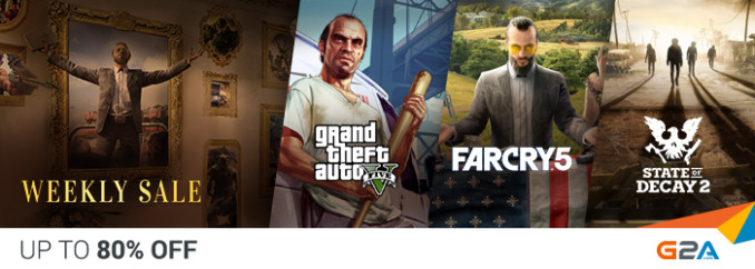 G2A Weekly Sale (18.05)