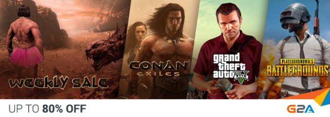 G2A Weekly Sale (11.05)