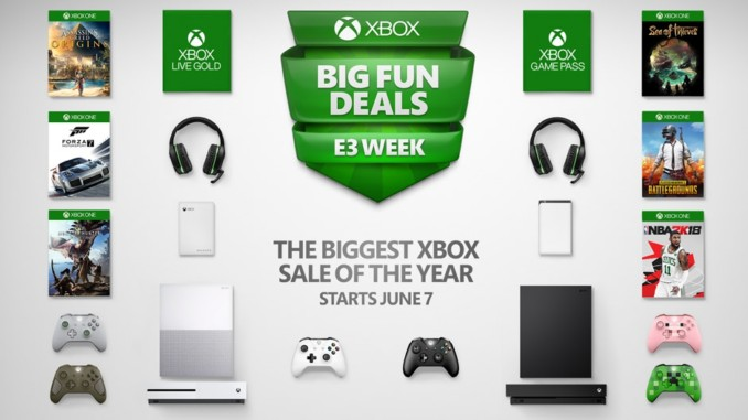 Promocja z okazji E3 w sklepie Microsoftu. Ponad 300 przecenionych gier
