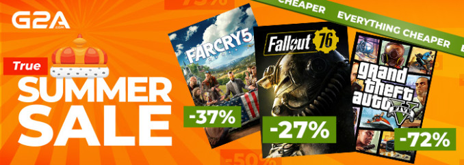 G2A Weekly Sale (22.06)