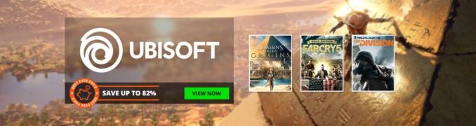 Wyprzedaż gier Ubisoftu w GMG