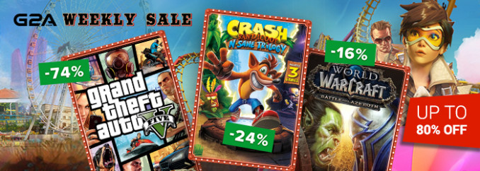 G2A Weekly Sale (6.07)