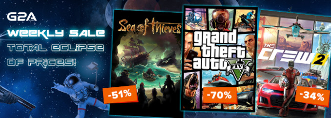 G2A Weekly Sale (27.07)