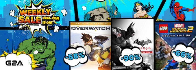 G2A Weekly Sale (20.07)