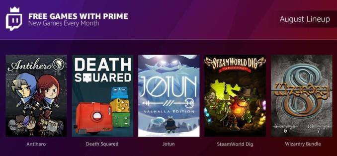 Darmowe gry dla abonentów Twitch Prime – sierpień 2018
