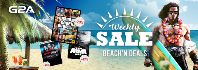 G2A Weekly Sale (11.08)
