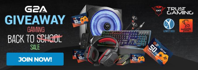 Giveaway: wygraj głośniki, słuchawki, klawiaturę, myszkę i giftcardy od G2A