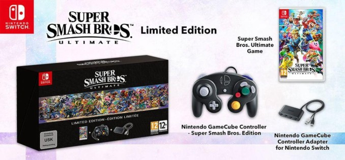 Super Smash Bros. Ultimate Limited Edition z kontrolerem do Gamecube'a i adapterem za 359,90 zł w Muve (+18 zł zwrotu)