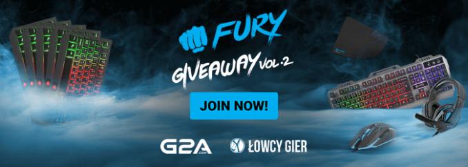 Giveaway: wygraj zestaw Fury Thunderjet lub klawiaturę Fury Hurricane!