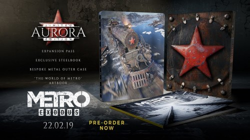 Promocja na Metro Exodus Aurora Limited Edition