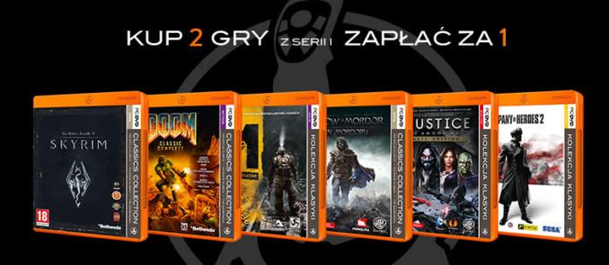 Dwie gry z serii Pomarańczowa Kolekcja Klasyki w cenie jednej ponownie w Media Markt