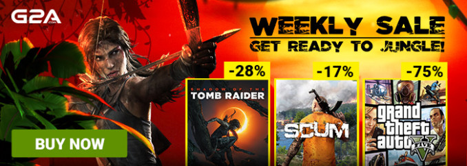 G2A Weekly Sale (14.09)