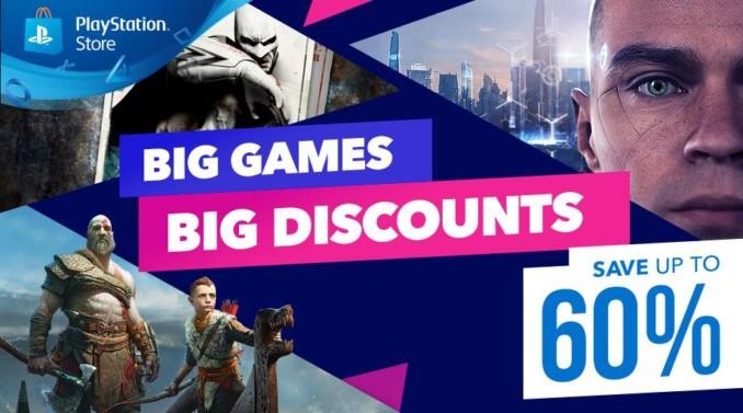 Wielkie gry, wielkie rabaty – nowa promocja w PlayStation Store