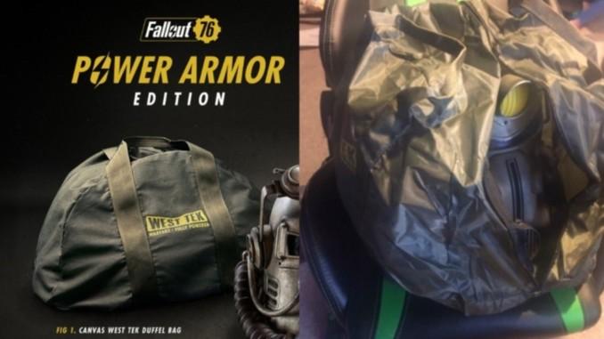 Bethesda wymieni płócienne torby dla posiadaczy Power Armor Edition