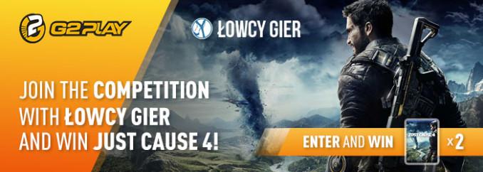 Giveaway: wygraj 1 z 2 kluczy Steam do Just Cause 4