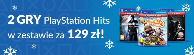 2 gry z serii PlayStation Hits za 129 zł w Euro RTV AGD