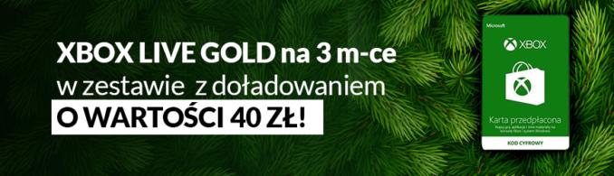 Zgarnij doładowanie o wartości 40 zł za zakup Golda na 3 miesiące w Euro