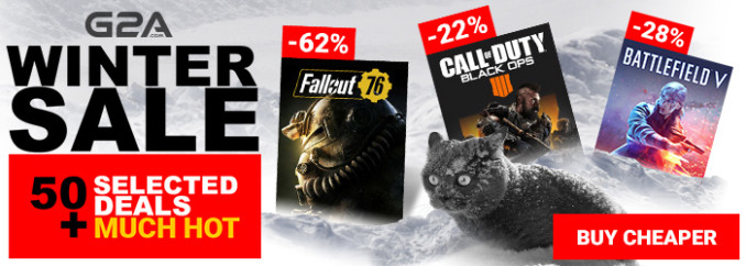 G2A Weekly Sale (7.12)