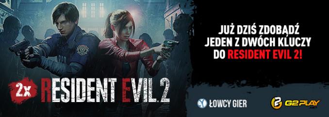 Giveaway: wygraj 1 z 2 kluczy Steam do Resident Evil 2