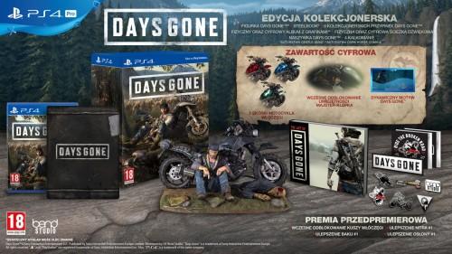 Promocja na edycję kolekcjonerską Days Gone