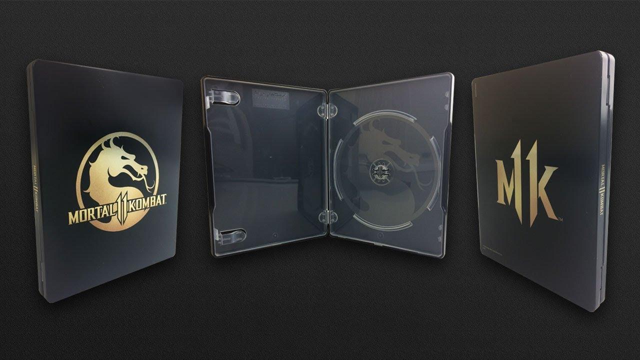 Preorder Mortal Kombat 11 Premium Edition z metalowym