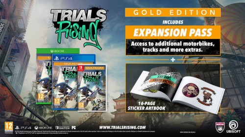 Promocja na Trials Rising Gold