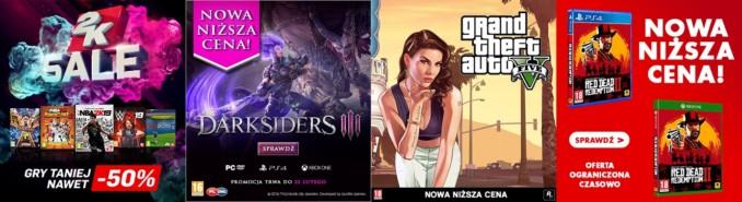 Cztery promocje na gry Cenegi w wybranych sklepach pudełkowych
