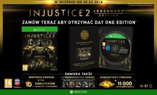 Promocja na Injustice 2 Legendary