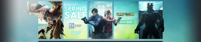 Wiosenna wyprzedaż Capcomu w GMG