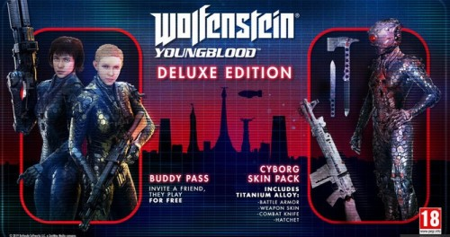 Promocja na Wolfenstein Youngblood Deluxe Edition