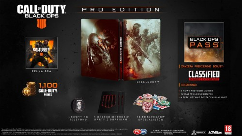 Promocja na Call of Duty: Black Ops 4 PRO EDITION