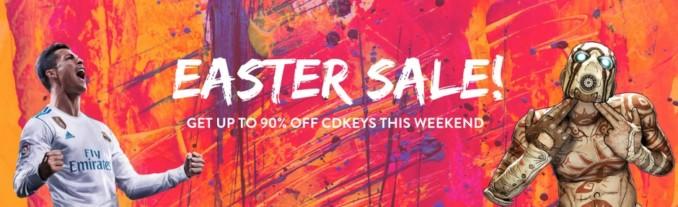 Wielkanocna wyprzedaż w cdkeys – promocje na PC