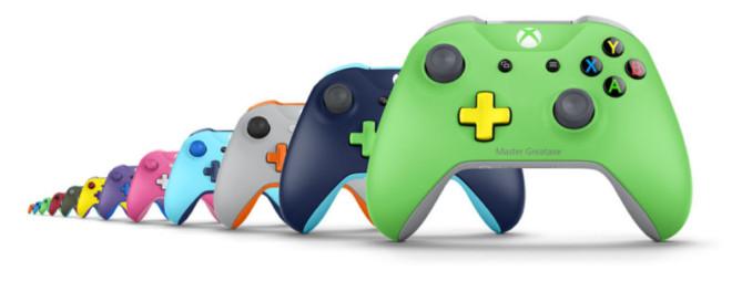 Kontrolery z Xbox Lab Design po 179 złotych w Microsoft Store