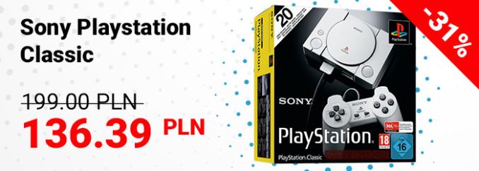 Promocja na Sony Playstation Classic w G2A (25.05)