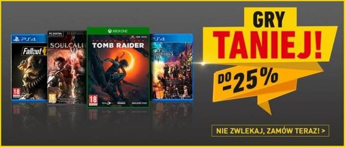 Red Dead Redemption 2,  SoulCalibur VI, Spyro Reignited Trilogy i inne gry pudełkowe z dystrybucji Cenega w promocyjnych cenach