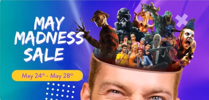 Cdkeys – May Madness Sale – gry na PC