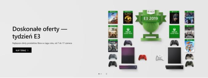 Tydzień E3 w Microsoft Store – promocje na sprzęt, akcesoria i gry na Xbox One