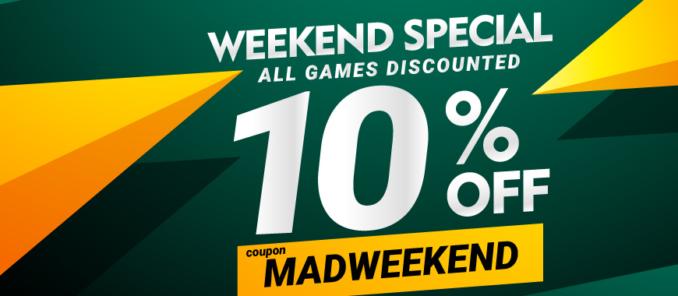 10% zniżki w GAMIVO na wszystkie gry do 50€
