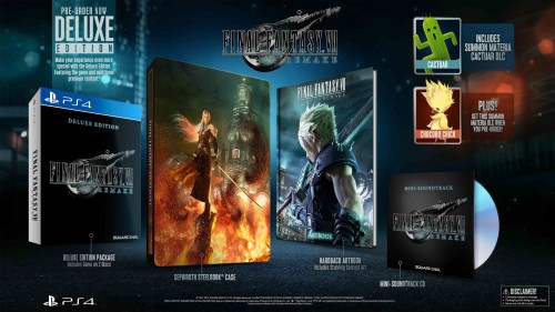 Final Fantasy VII Remake Deluxe dostępne w Ultimie