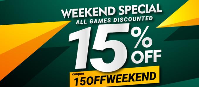 15% zniżki w GAMIVO na wszystkie gry do 50€
