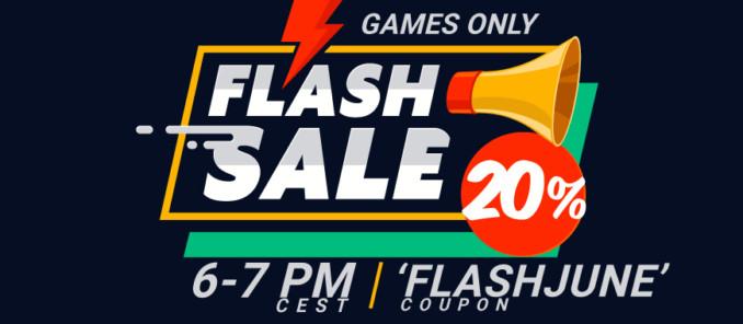 20% dodatkowego rabatu na gry w GAMIVO tylko do godziny 19!